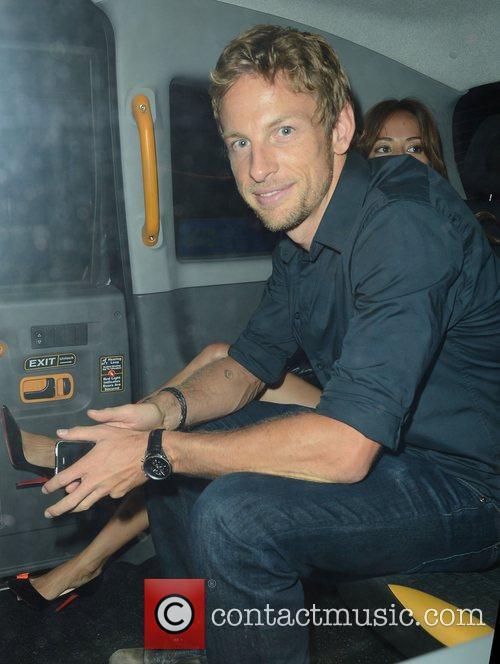 Jenson Button and Boujis 10