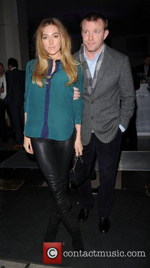 Jacqui Ainsley and Guy Ritchie at the H.R....