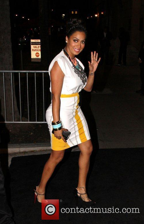 LaLa Vazquez Celebrities arrive at Boulevard 3 Nightclub...