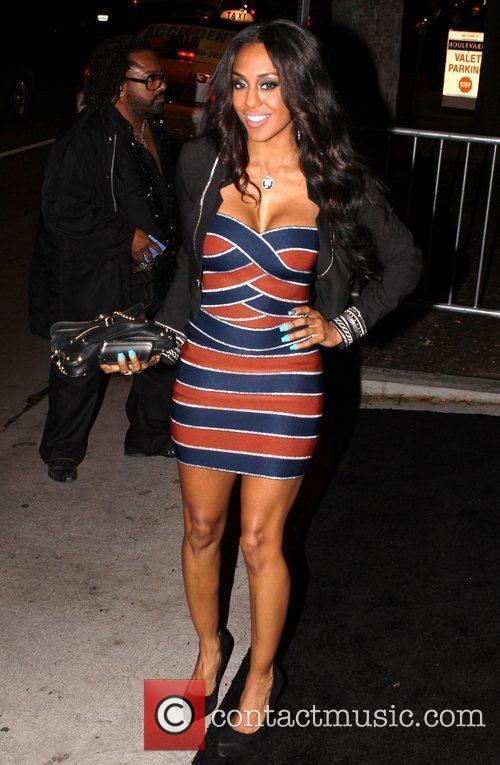 Superstar Shyra Celebrities arrive at Boulevard 3 Nightclub...
