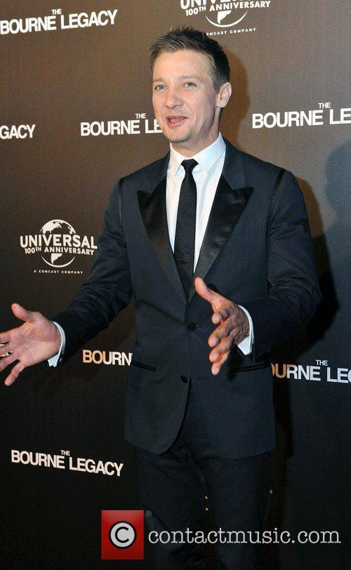At the Melbourne Premiere of The Bourne Legacy...