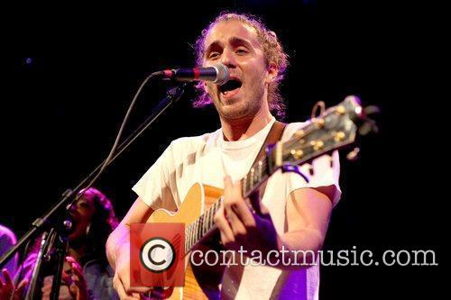 Anthony Hall performs as an opening act at...