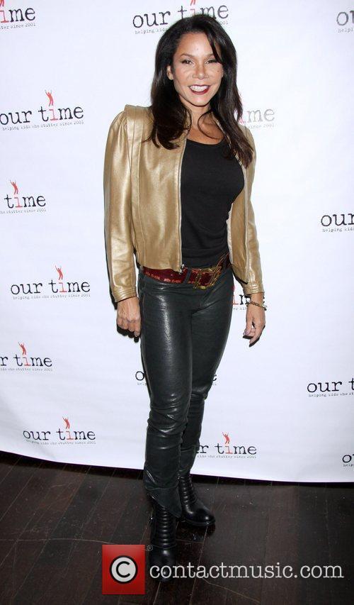 Daphne Rubin-Vega attending the All Star Bowling Event...