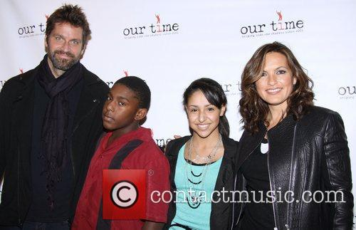 Peter Hermann, Mariska Hargitay and Our Time 4