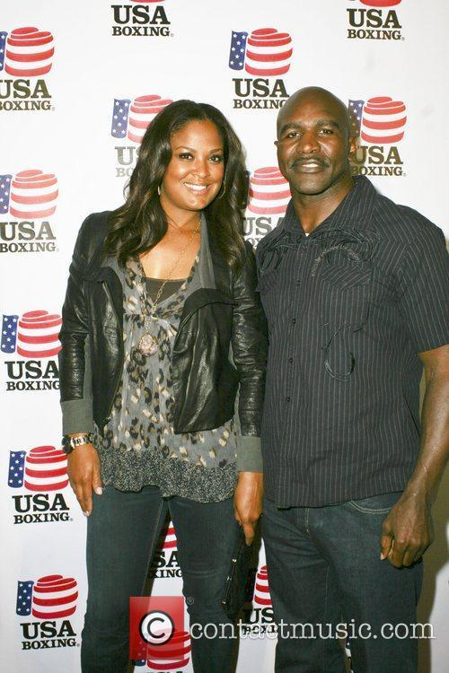 Evander Holyfield and Laila Ali 3