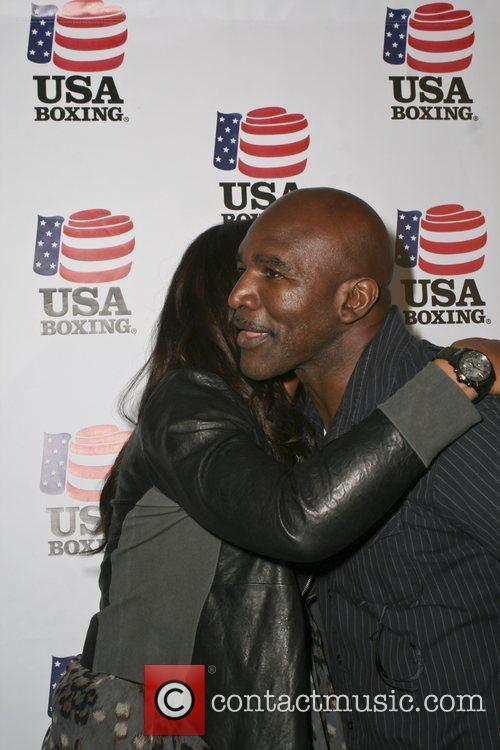 Evander Holyfield and Laila Ali 4