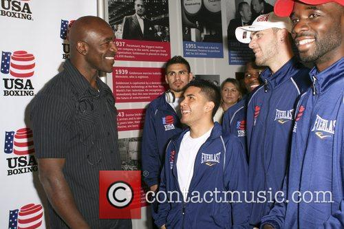 evander holyfield and the usa boxing team 5831361
