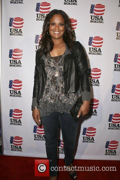 Laila Ali  attend the USA Olympic Boxing...