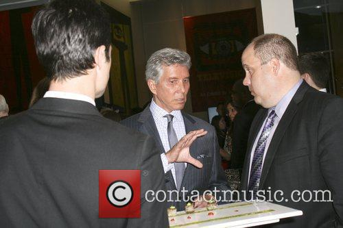 Michael Buffer attend the USA Olympic Boxing Benefit...
