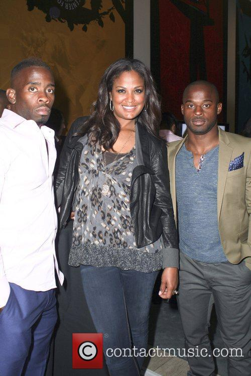 Rodney Martin, Laila Ali and Leroy Dixon...