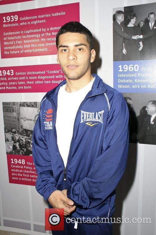 Santos Vasquez attend the USA Olympic Boxing Benefit...