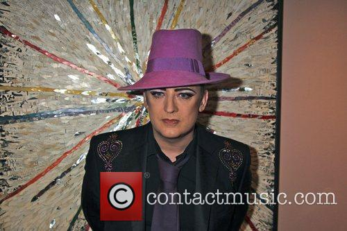 boy george at the launch of his 3654740