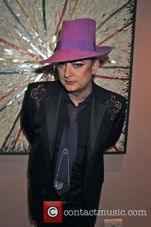 boy george at the launch of his 3654742