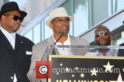 Jimmy Jam, Terry Lewis, and Wanya Morris The...
