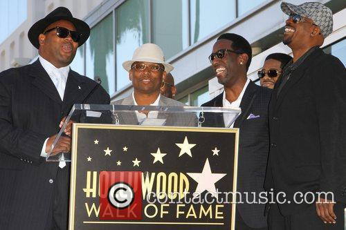 Jimmy Jam, Babyface and Star On The Hollywood Walk Of Fame 1