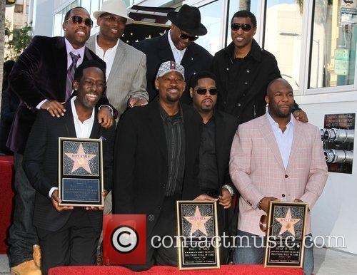 Michael Bivins, Shawn Stockman, Terry Lewis, Michael McCary,...