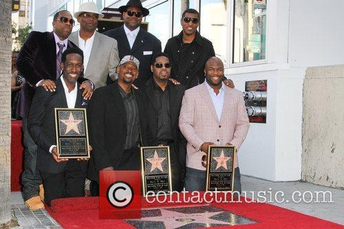 Jimmy Jam, Babyface and Star On The Hollywood Walk Of Fame