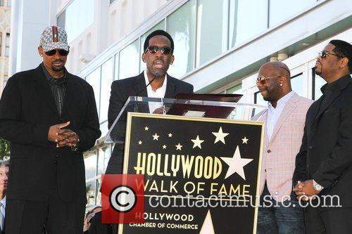 Michael McCary, Shawn Stockman, Wanya Morris, and Nathan...