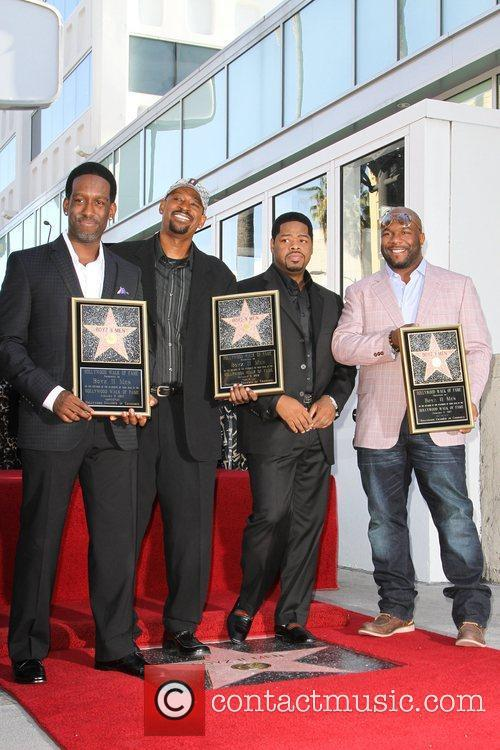 Shawn Stockman, Michael McCary, Nathan Morris, and Wanya...