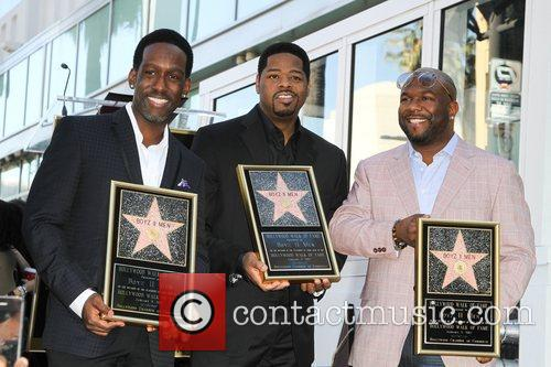 Shawn Stockman, Nathan Morris, and Wanya Morris The...