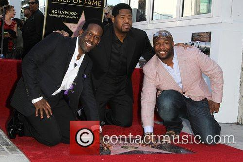 Shawn Stockman, Nathan Morris, and Wanys Morris The...