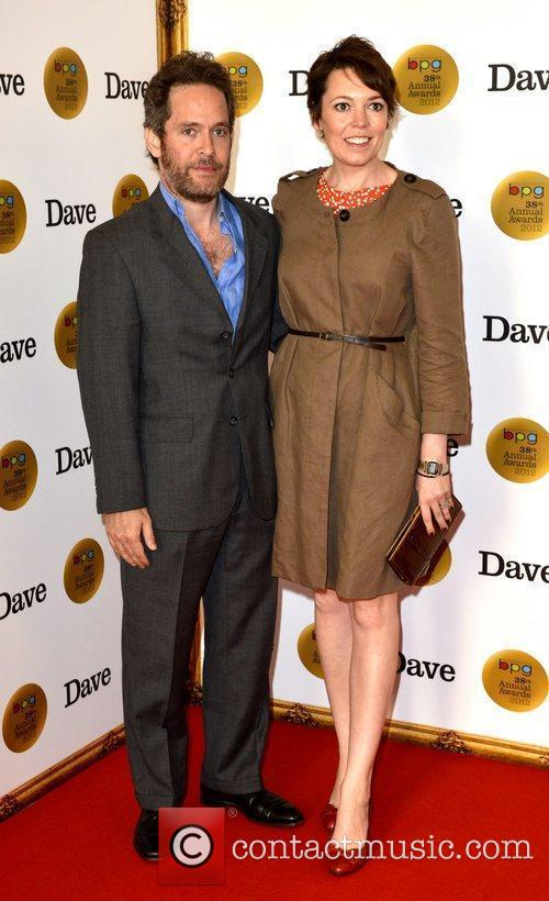 Tom Hollander and Olivia Colman 2