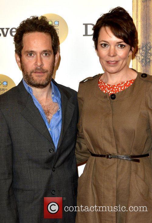 Tom Hollander and Olivia Colman 1