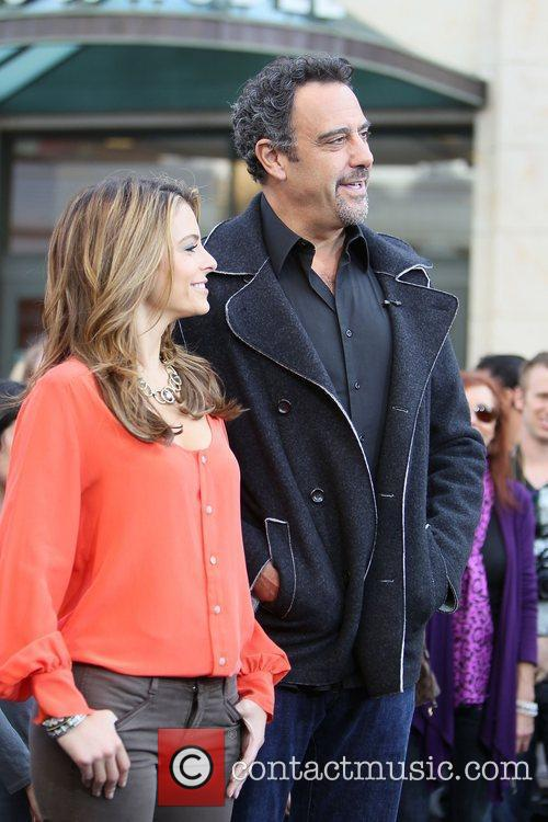 Maria Menounos and Brad Garrett 2