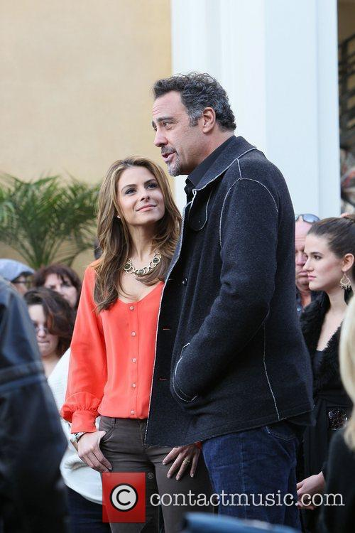 Maria Menounos and Brad Garrett 7