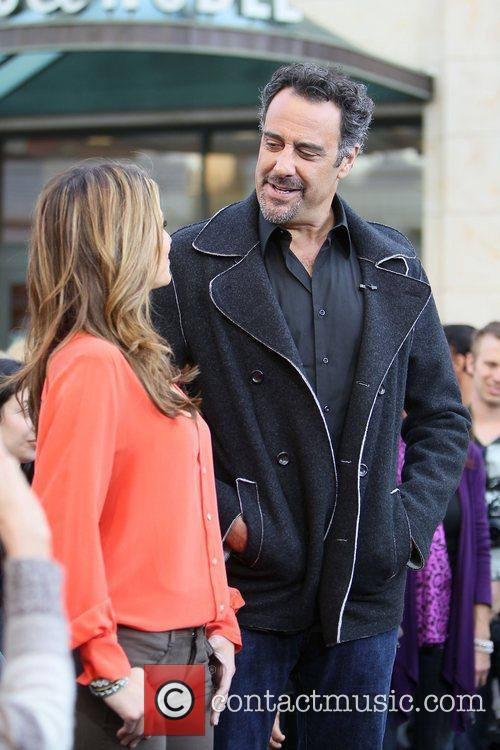 Maria Menounos and Brad Garrett 1