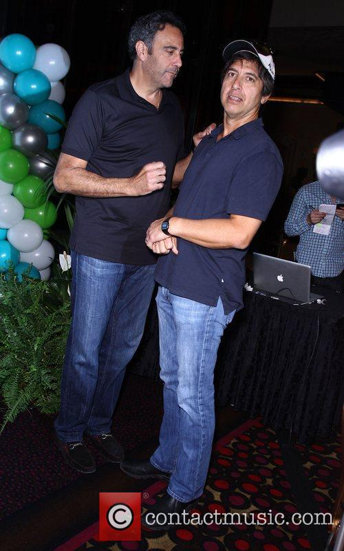 Brad Garrett and Ray Romano 9