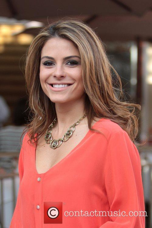 maria menounos at the grove to appear 5782485