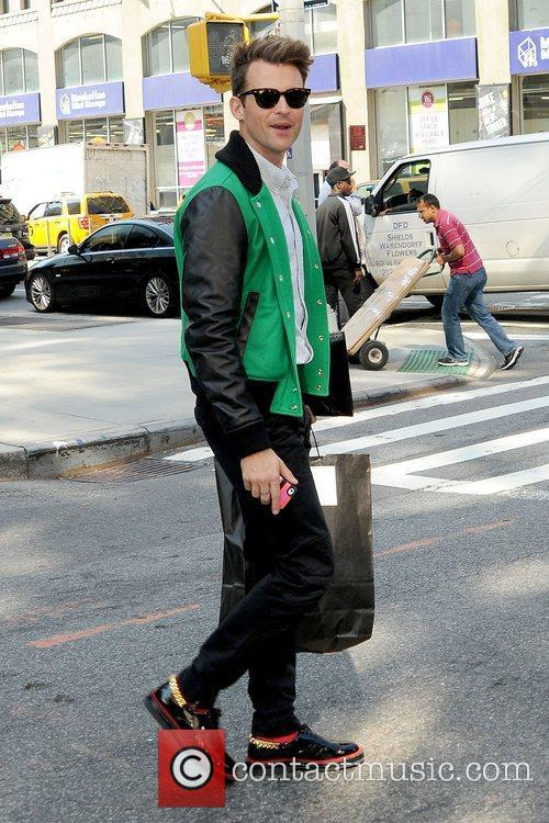 Brad Goreski looking stylish as he leaves his...