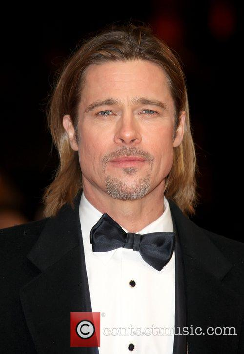 File Photo***  Brad Pitt teams up with...