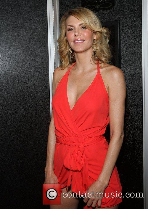 Brandi Glanville goes for a spray tan at...