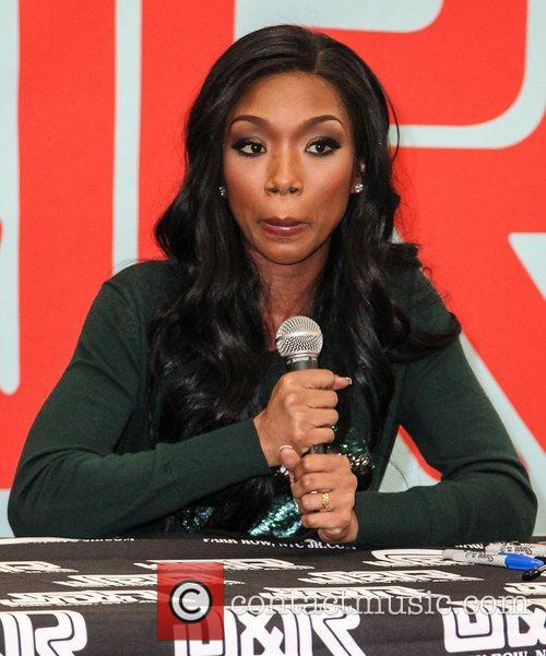 Brandy Norwood promotes her new album, 'Two Eleven'...