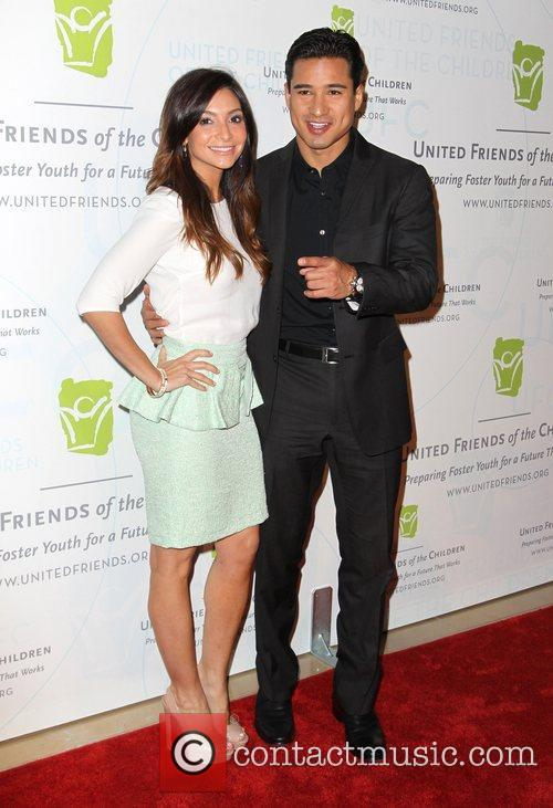 Mario Lopez and Courtney Mazza United Friends of...