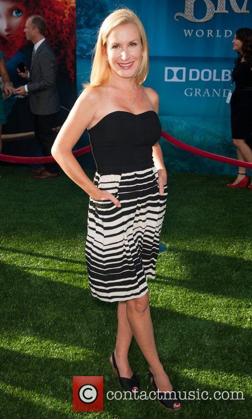 Angela Kinsey 2012 Los Angeles Film Festival premiere...