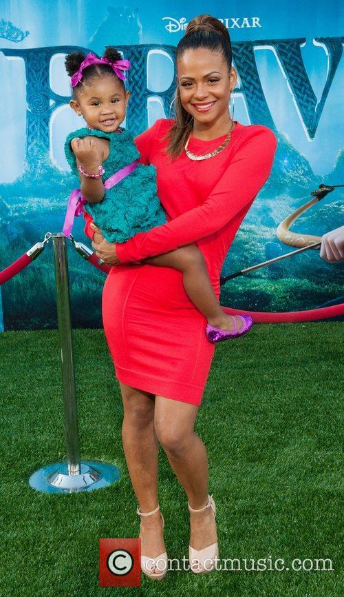 christina milian and daughter violet 2012 los 3951412