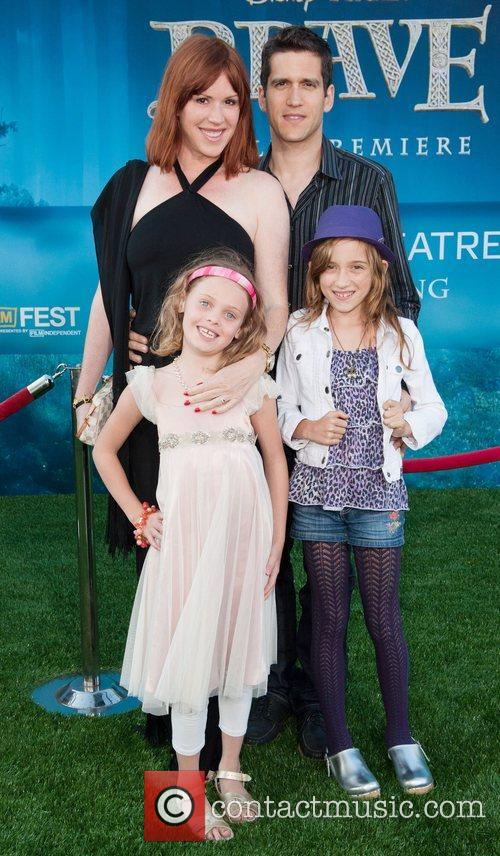 Molly Ringwald and family 2012 Los Angeles Film...