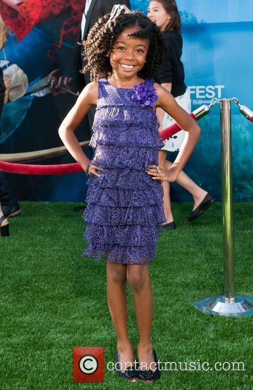 Skai Jackson 2012 Los Angeles Film Festival premiere...