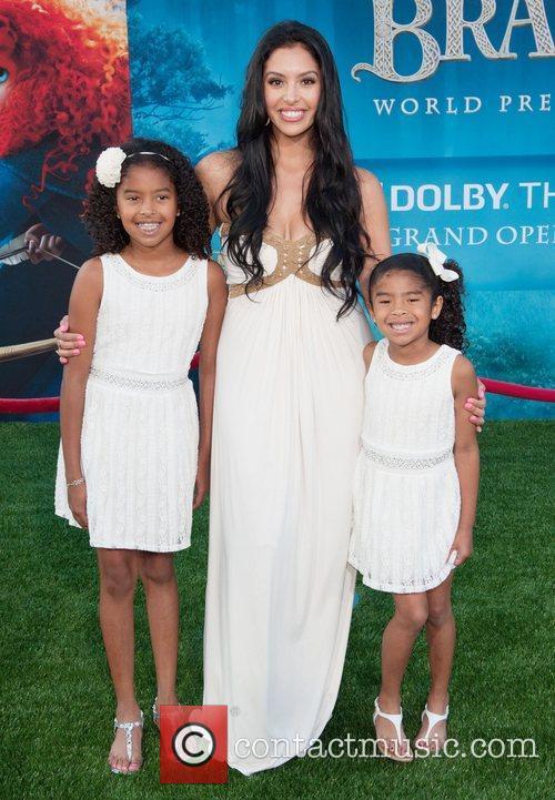 Vanessa Bryant and Family 2012 Los Angeles Film...
