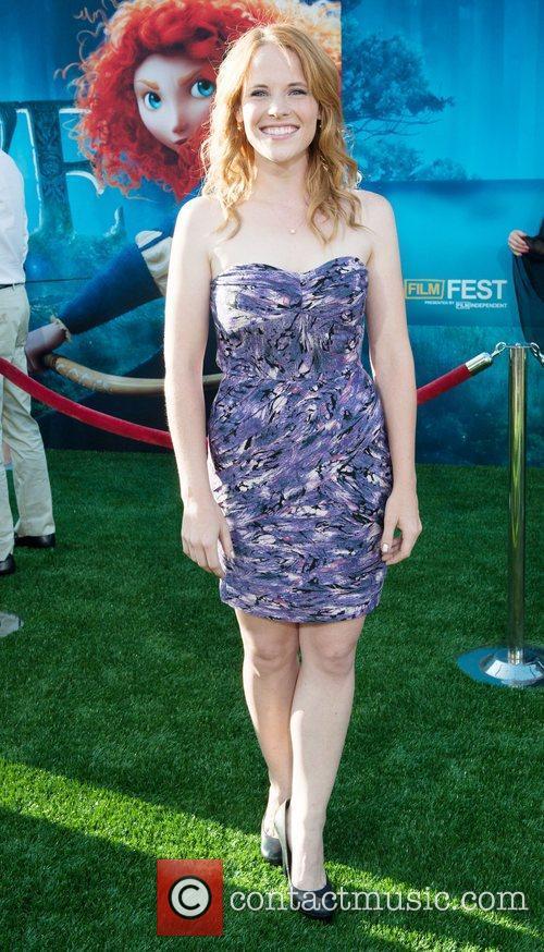 Katie Leclerc 2012 Los Angeles Film Festival premiere...