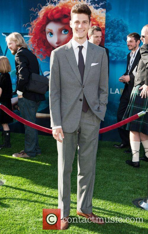 Ken Baumann 2012 Los Angeles Film Festival premiere...