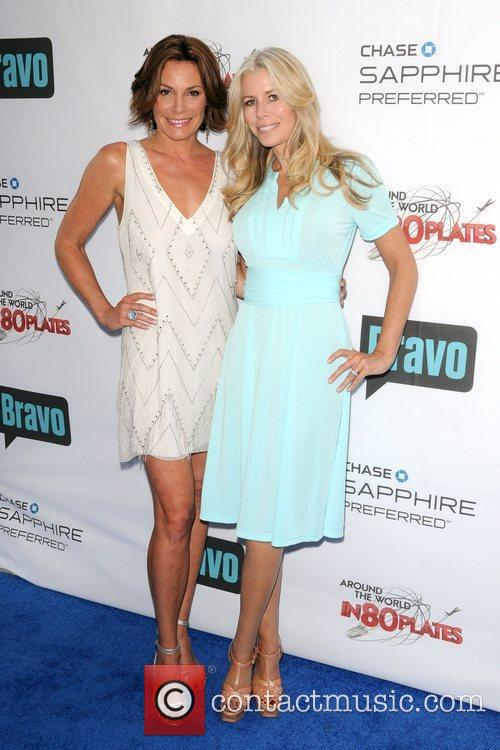 LuAnn de Lesseps and Aviva Drescher Bravo's Around...