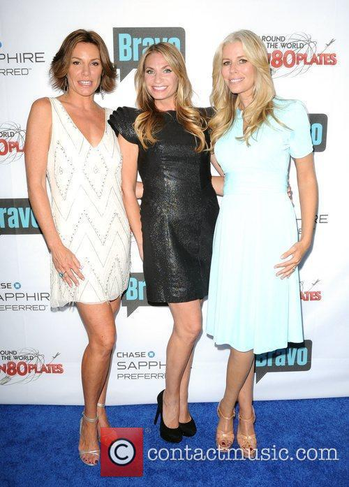 LuAnn de Lesseps, Heather Thompson and Aviva Drescher...