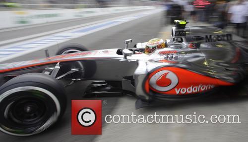 Lewis Hamilton and Team Mclaren-mercedes 3