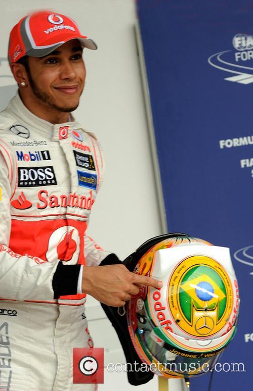 Lewis Hamilton and Team Mclaren-mercedes 8