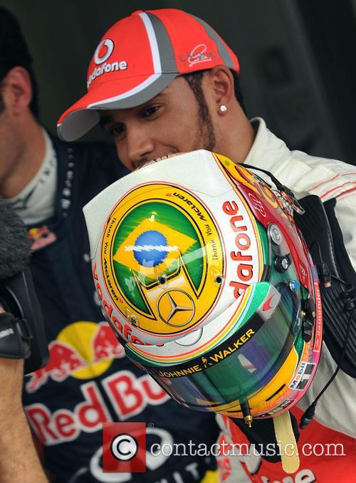 Lewis Hamilton and Team Mclaren-mercedes 7