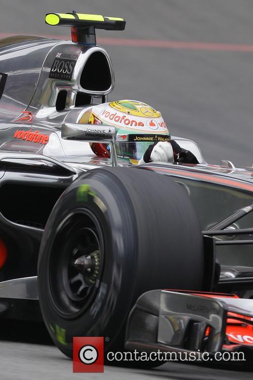 Lewis Hamilton and Team Mclaren-mercedes 2
